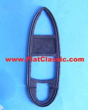 Gummiunterlage Schlusslicht rechts/links Trasform. Fiat 500 Bianchina