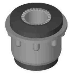 Silentbuchse für Querlenker 30 mm, Innen: 14 mm Fiat 500 Giardiniera - 600 - 850 - 126