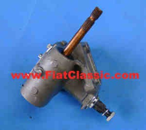 Steering gear exchange left-hand drive Fiat 500 - Fiat 600