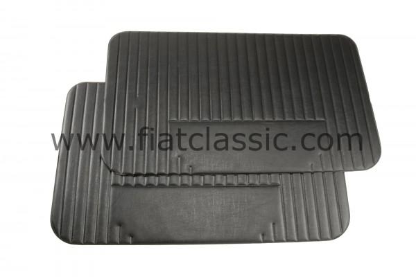 Deurpaneel zwart (paar) Fiat 500 L