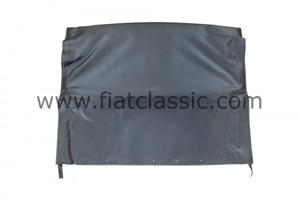 Vouwdak zwart, volledig geassembleerd Fiat 500 F/L/R