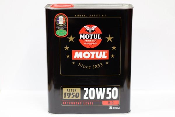 Motul Oldtimer Motorenöl 2l