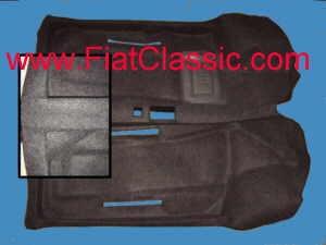 Teppichboden anthrazit Fiat 600