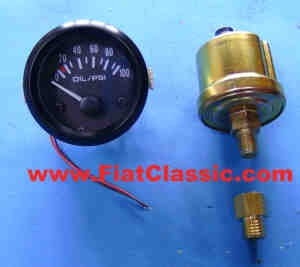 Oil Pressure Kit 52mm PSI Fiat 500 - Fiat 600