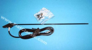 A-pillar antenna in chrome Fiat 500 - Fiat 126 (1st series) - Fiat 600