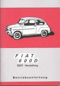Instruction manual Fiat 600