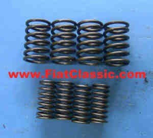 Valve springs 8 pieces Fiat 500 (not R)
