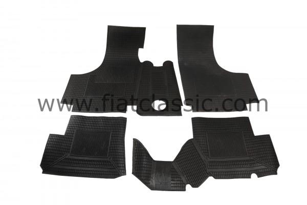 Set of rubber mats Fiat 500
