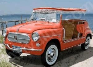 Radkappe Jolly Fiat 600