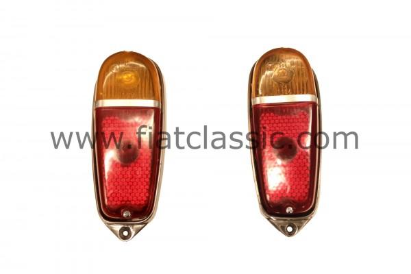 Rear lights (pair) Fiat 600