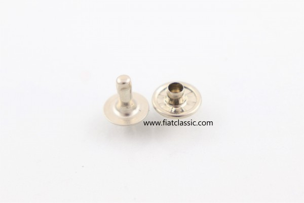 Rivets for folding roof Fiat 500