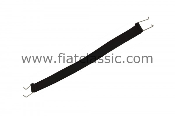 Rubber straps for seat back Fiat 500 (not R)