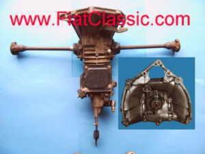 Transmission synchronisée et révisée Fiat 500 F/L