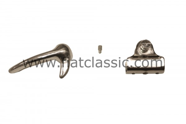 Repair kit for hinged window right Fiat 500 - Fiat 600