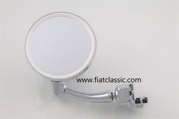Clamping mirror for door (left or right) Fiat 126 - Fiat 500 - Fiat 600