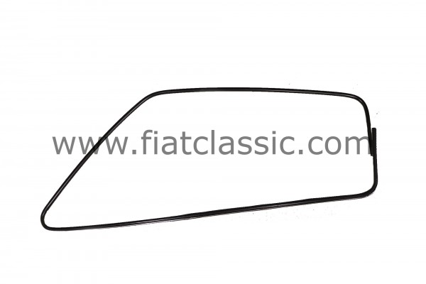 Fensterrahmen schwarz (Paar) Aluminium Fiat 126