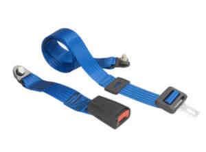 Becken-Sicherheitsgurt in blau Fiat 500