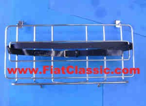 Luggage carrier to hang up chrome Fiat 600