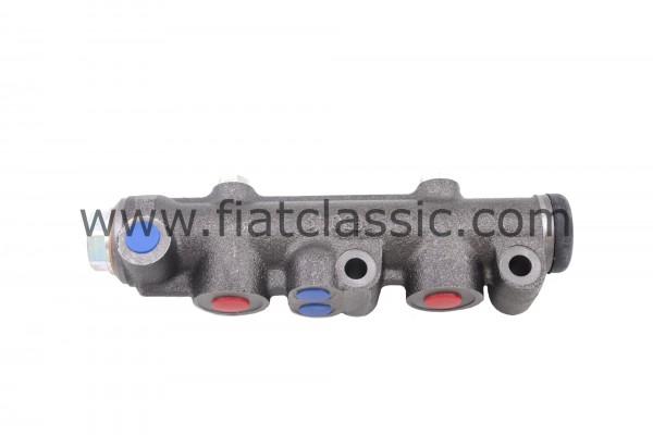 Hoofdremcilinder dubbelcircuit systeem Fiat 600