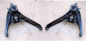 Rear wheel swingarm pair right/left NEW Fiat 126 (1st and 2nd series)