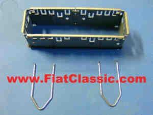 Installation kit for radio console Fiat 126 - Fiat 500 - Fiat 600