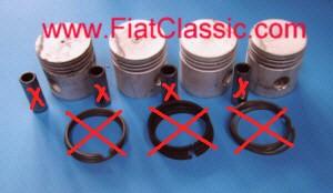 Piston 60,4 mm (jeu) Fiat 600, Fiat 600 Multipla