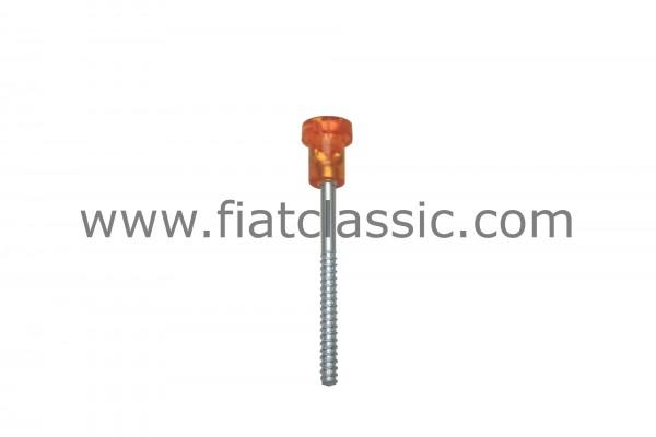 Feu arrière à vis orange 5 cm Fiat 126