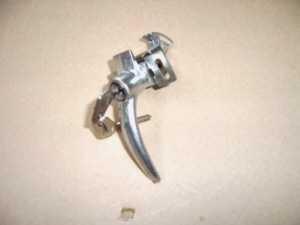 Tailgate lock chrome-plated Fiat 500 F/L