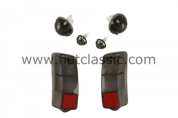 Light set for indicator and taillight smoke Fiat 500 F/L/R