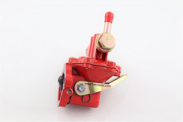 Pompe à essence avec levier de secours en rouge Fiat 126 - Fiat 500 - Fiat 600