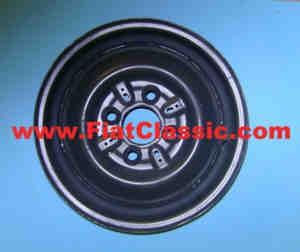 Stahlfelgensatz 3,5x12 4/98 gebraucht/aufgearbeitet Fiat 500 - Fiat 600