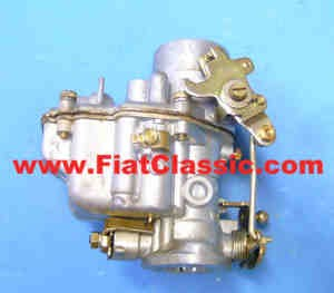 Weber carburetor licenses 28M30 Fiat 600