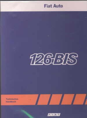 Workshop manual (English) Fiat 126 (BIS)