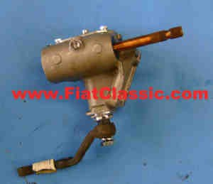 Steering gear exchange (angled steering lever) Left-hand drive Fiat 600