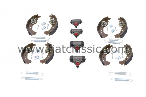 Set freni piccoli Fiat 126 II.