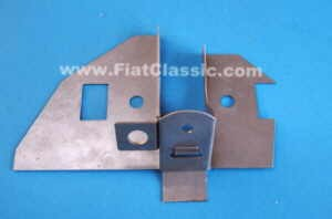 Support plate wishbone mounting front right Fiat 126