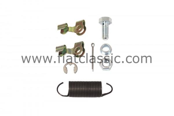 Montagesatz für Gaszug Fiat 126 - Fiat 500