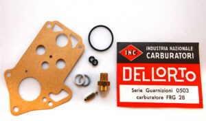 Set guarnizioni carburatore Del'Lorto FRG28 Fiat 126 - Fiat 500