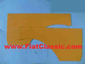 Carenatura posteriore Fiat 600 marrone