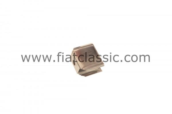 Bumper bracket chrome-plated Fiat 126 - Fiat 500 - Fiat 600