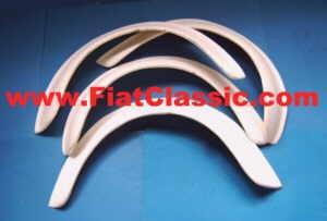 Allargamento del parafango - Plastica in fibra di vetro ca. 40mm
