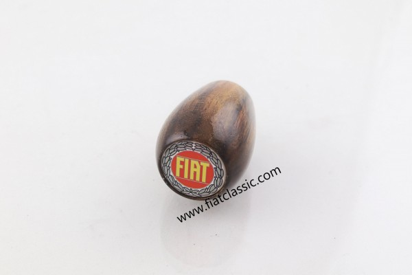 Rootwood gear knob with logo Fiat 126 - Fiat 500 - Fiat 600