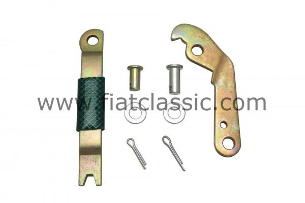 Mounting kit handbrake cable right Fiat 126 - Fiat 500