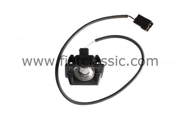 Kentekenverlichting inclusief kabel Fiat 126 BIS