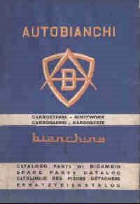 Fiat 500 Bianchina Lichaam Trasformabile van Bianchina