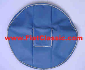 Spare wheel cover red, green or blue Fiat 600 Multipla