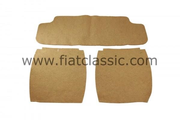 Jute for seats front/rear Fiat 500