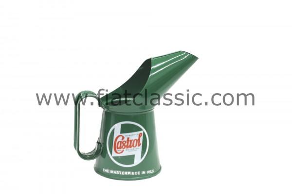 Pot de mesure d'huile Castrol Classic - Demi-pinte