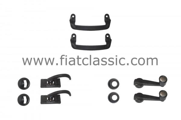 Ensemble de portes en plastique Fiat 126 - Fiat 500