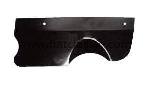 Spatbord voor uitlaatgassen Fiat 500